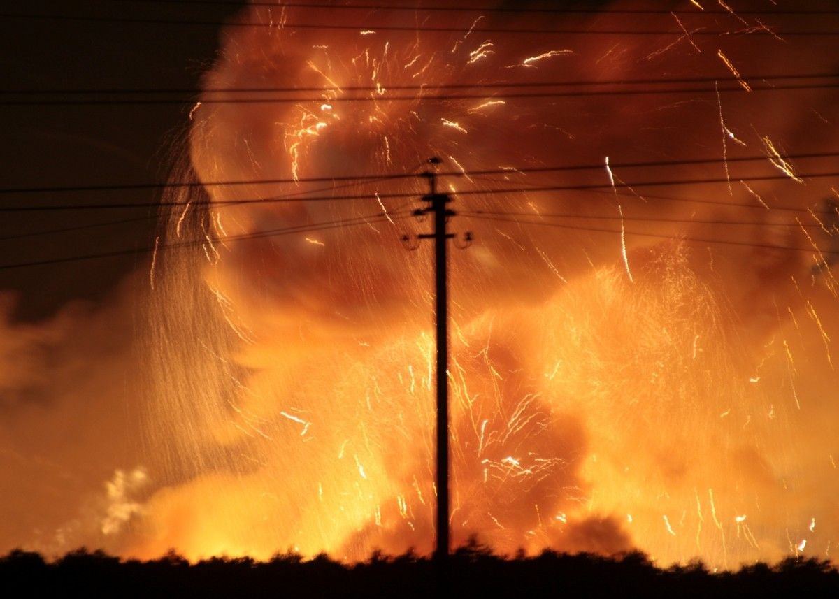 З'явилися важливі подробиці розслідування вибухів боєприпасів у Калинівці / ілюстративне фото Reuters