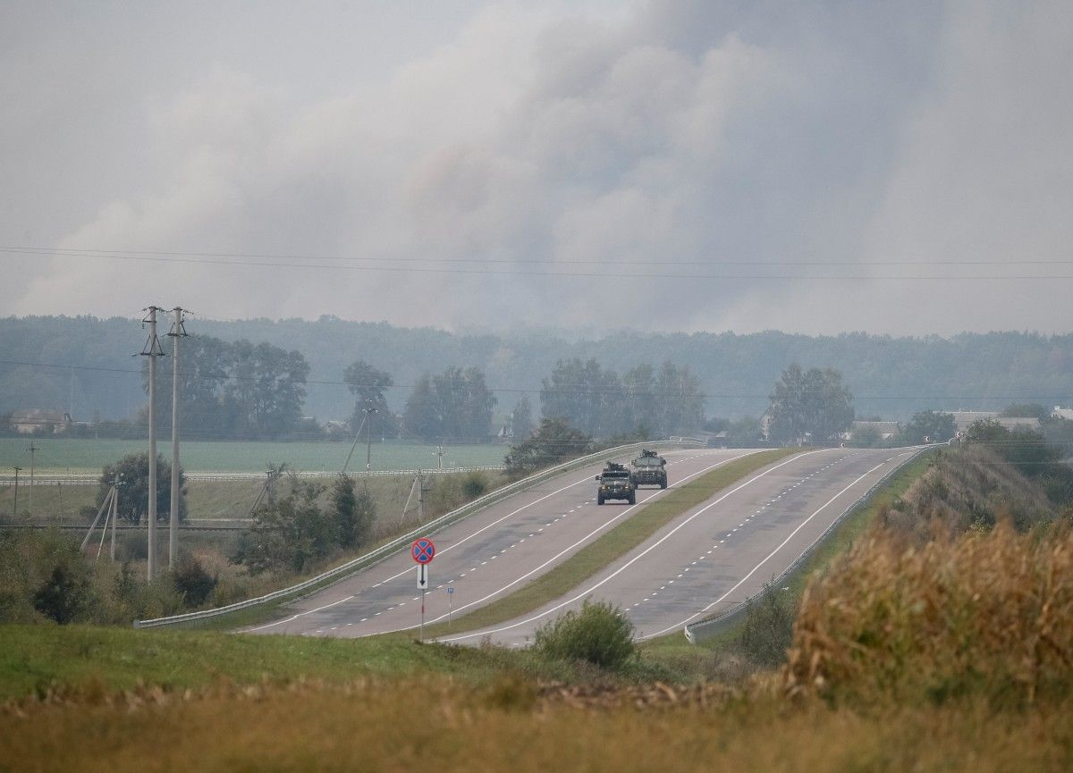 Взрывы в Калиновке / REUTERS