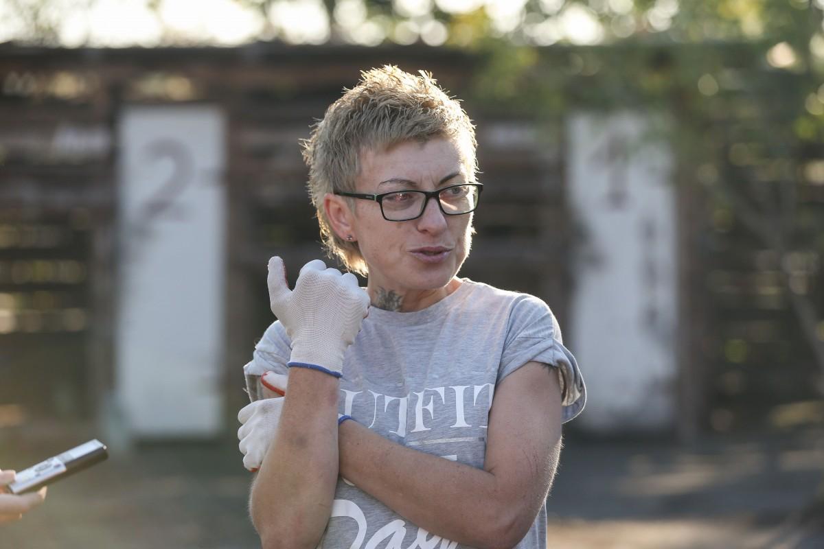 Зоозащитница Яна Ренк / фото УНИАН