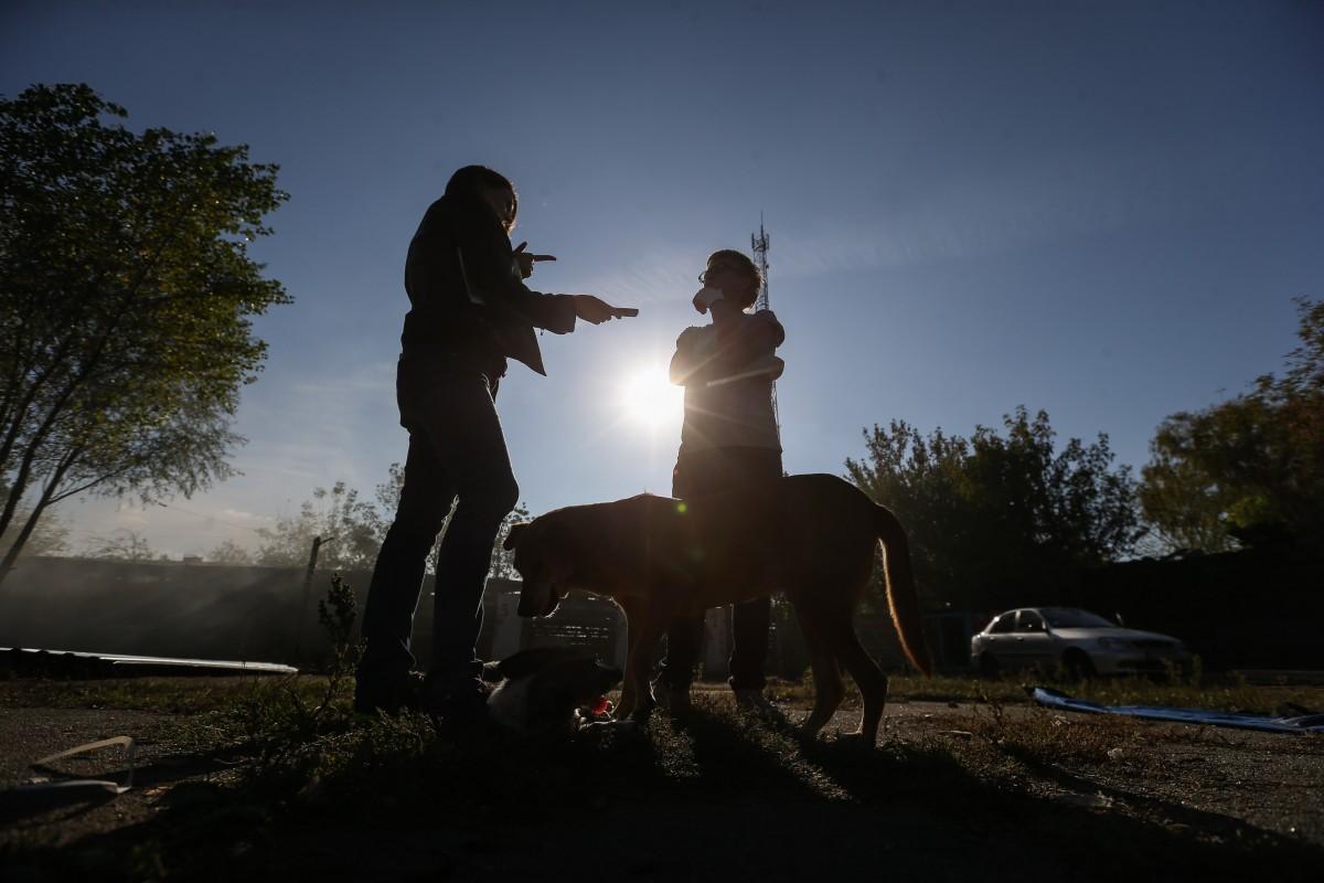 Волонтеры призывают не держать собак на цепи / фото УНИАН