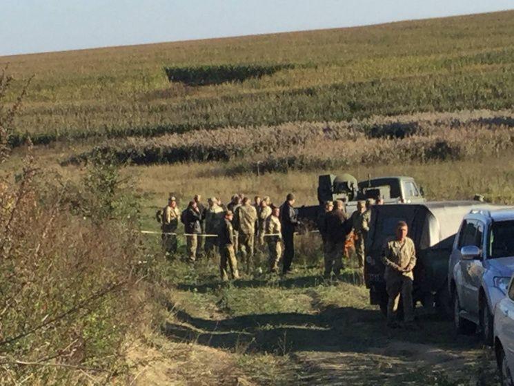 Военный учебный самолет Л-39 разбился в Хмельницкой области / khm.depo.ua