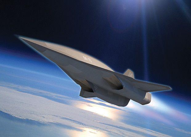 SR-72 сможет разгоняться до около 14 тысяч км/ч / Фото Lockheed Martin