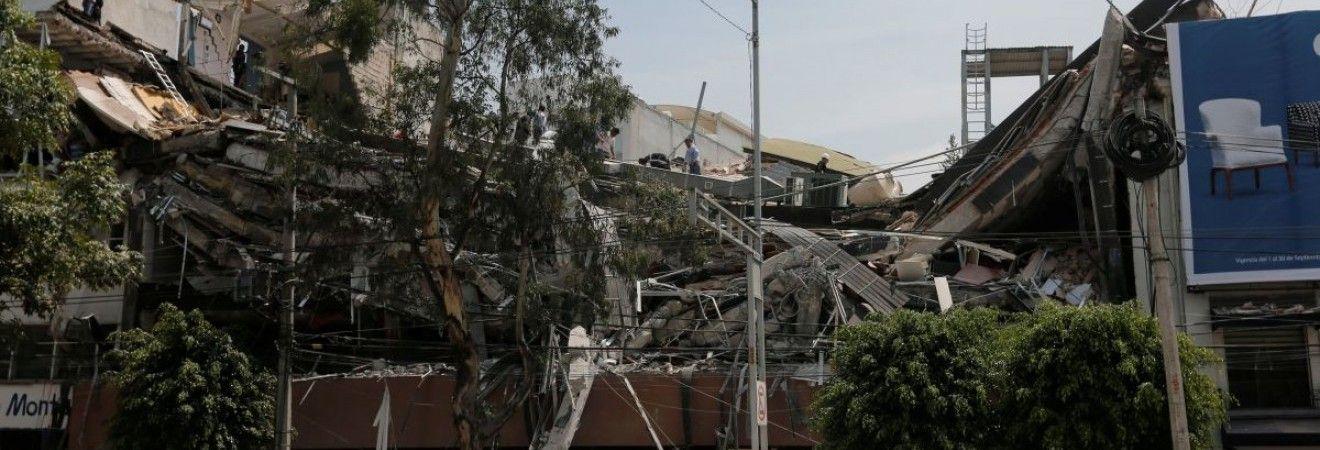 Разрушительное землетрясение в Мексике: погибли как минимум 60 человек (фотогалерея)