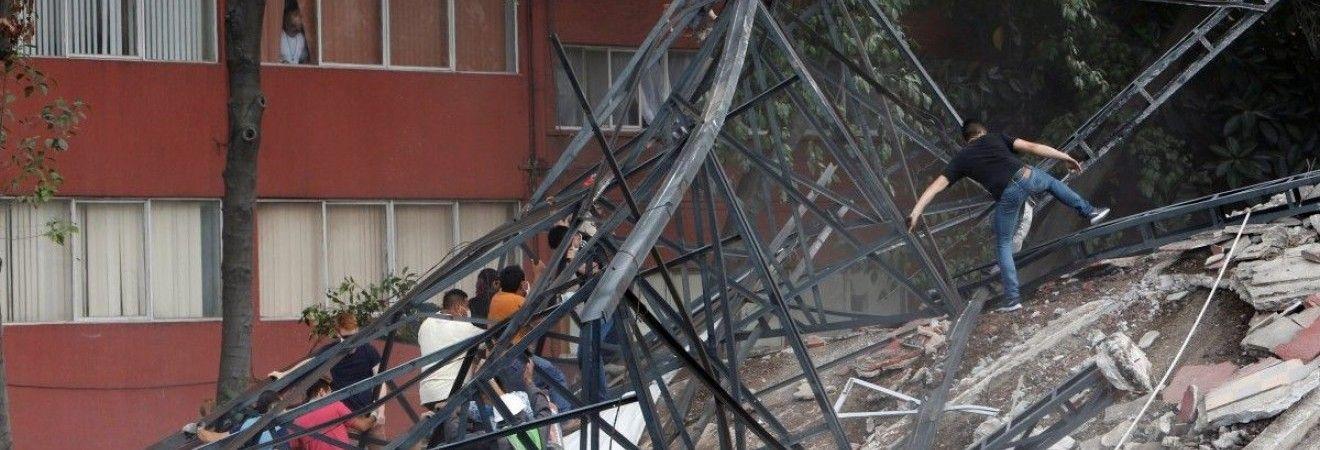 На юге Мексики произошло новое мощное землетрясение, застав врасплох местных жителей