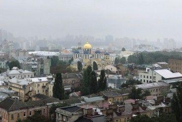 В Киеве завтра пройдет дождь, температура до +22°