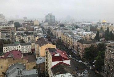 Завтра у Києві очікується дощ з грозою, температура до +29