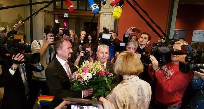 Регистрация гомосексуальных браков