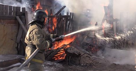 Причини пожежі з'ясовуються / ДСНС