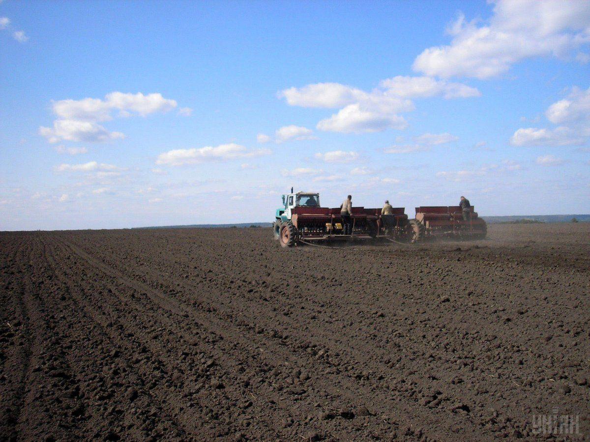 В текущем году аграрии вышли в поля раньше обычного / фото УНИАН