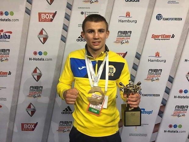 Олександр Хижняк - кращий спортсмен місяця / noc-ukr.org