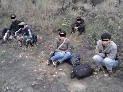 Нелегалів намагалися переправити до України незаконно / фото facebook.com/DPSUkraine