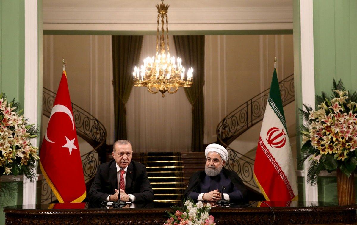 Реджеп Тайип Эрдоган и Хасан Роухані / REUTERS
