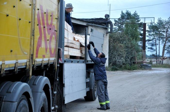 Отправили машину сегодня, 5 октября / фото oda.zt.gov.ua
