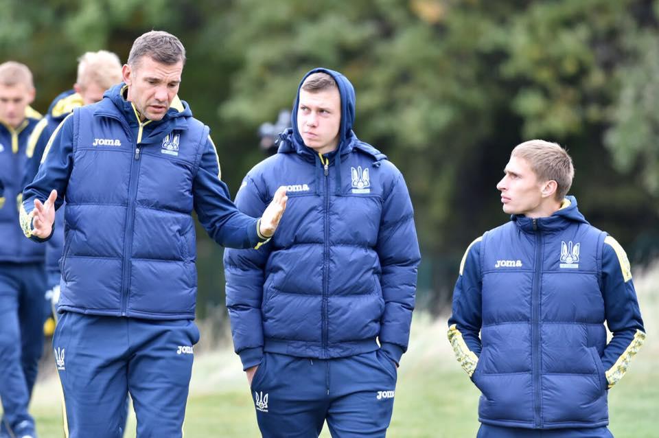 Грацям сборной Украины пообещали премию за победу над Хорватией / ФФУ