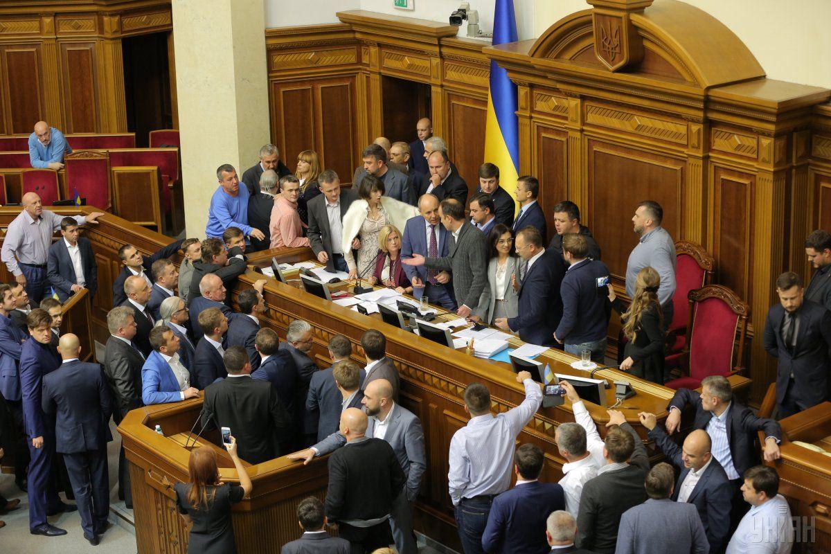 Депутаты продолжат свою работу завтра / фото УНИАН