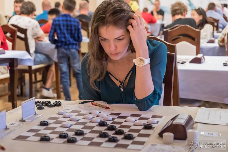 Вікторія Мотричко / Федерація шашок України