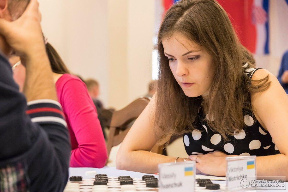 Виктория Мотричко завоевала золотую медаль / фотоФедерация шашек Украины