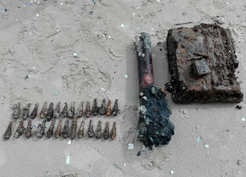Водолазы подняли 12 тысяч взрывоопасных предметов / Фото dsns.gov.ua