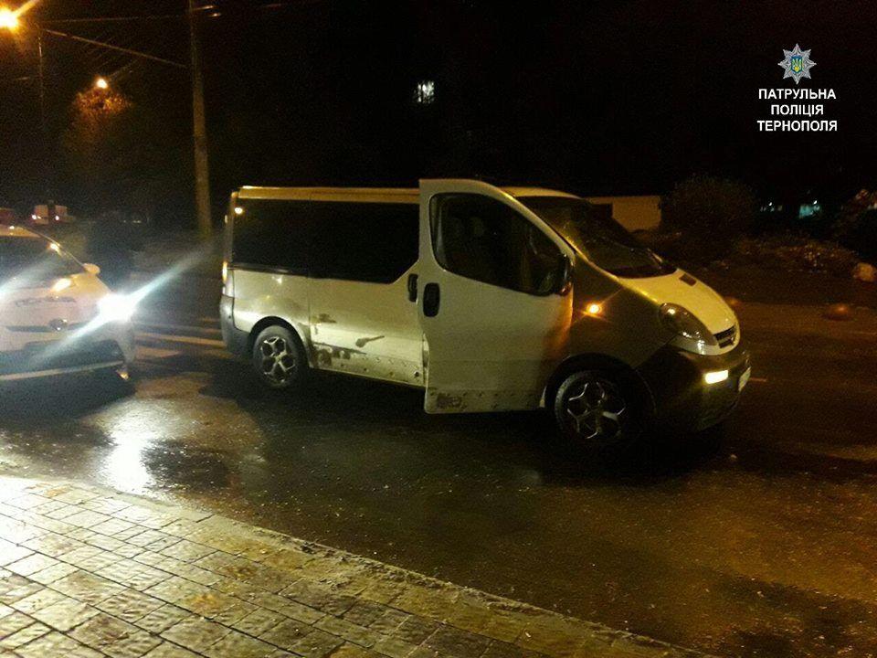 Водій їздив у нетверезому стані / фото поліції Тернополя