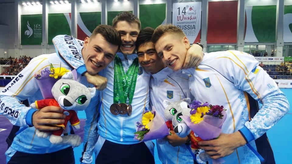 Збірна України здобула 5 нагород на чемпіонаті світу з ушу / Спортивний комітет України