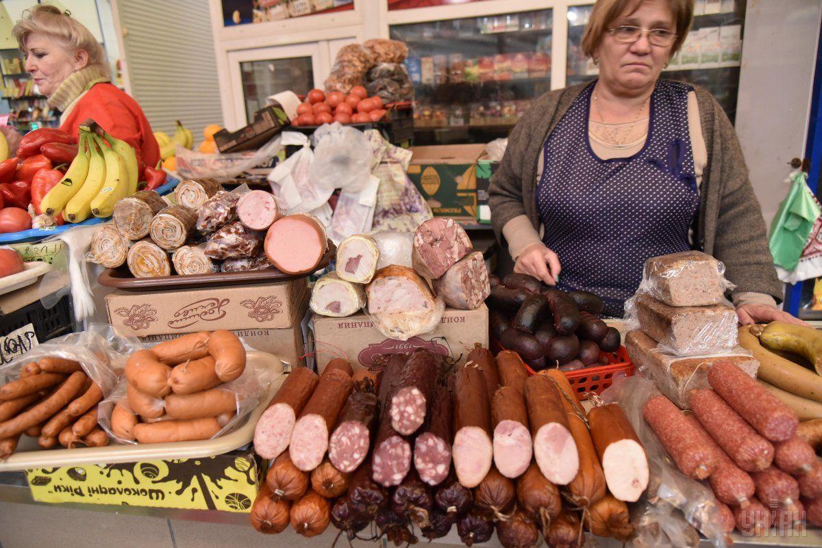 М'яснийкошикподорожчавдо 575 грн / фото УНІАН