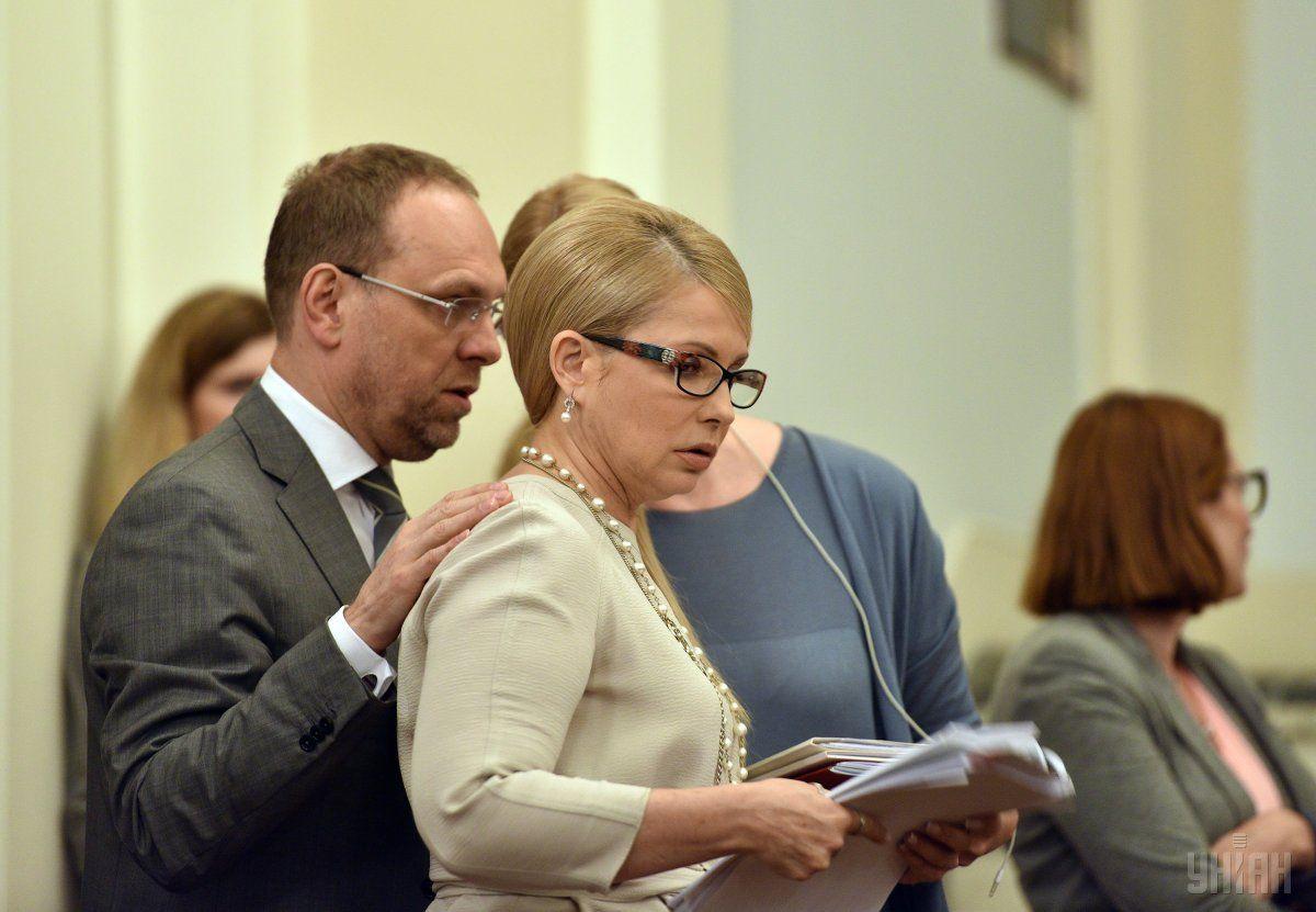Юлия Тимошенко и Сергей Власенко / фото УНИАН