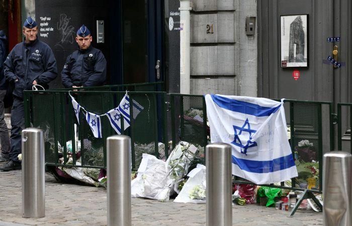 Еврейский музей в Брюсселе после теракта в 2014 году / REUTERS
