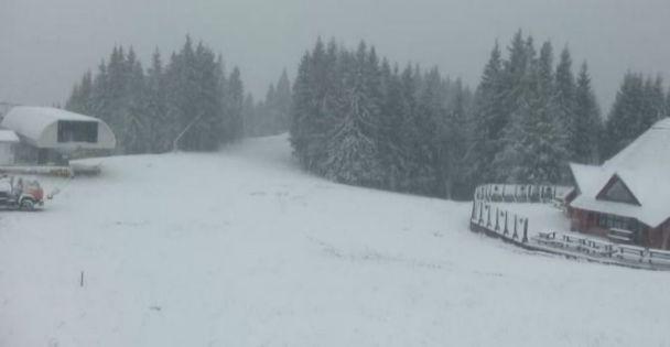 Перший сніг в Україні