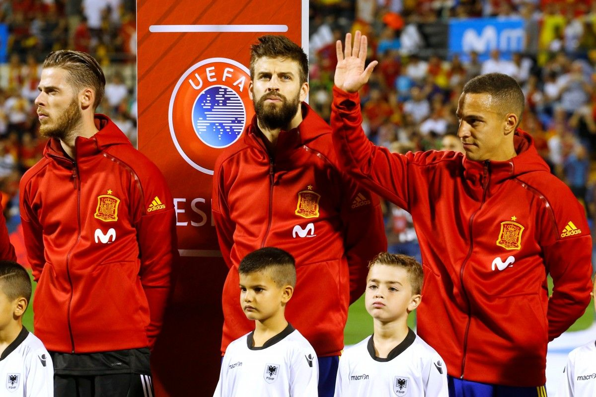 Сборая Испании вышла на ЧМ / Reuters