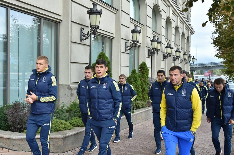 В сборной Украины идут последние приготовления к матчу с Хорватией / facebook.com/UaNationalFootball