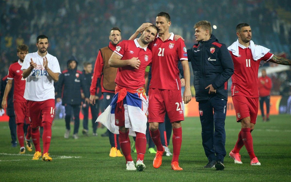 Сборная Сербии вышла в финальную часть ЧМ после перерыва в 8 лет / Reuters