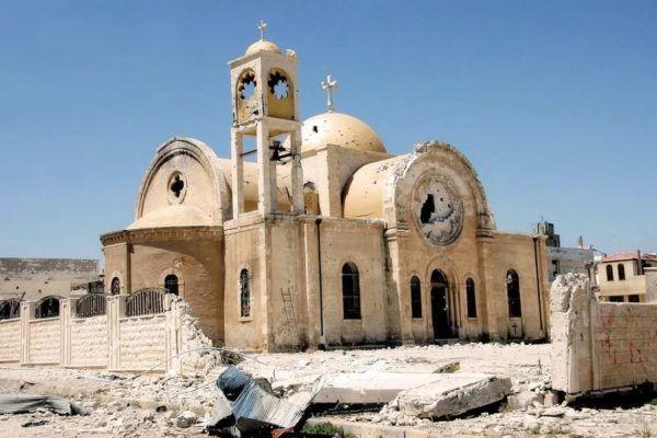 РПЦ окажет помощь ввосстановлении храмов вСирии