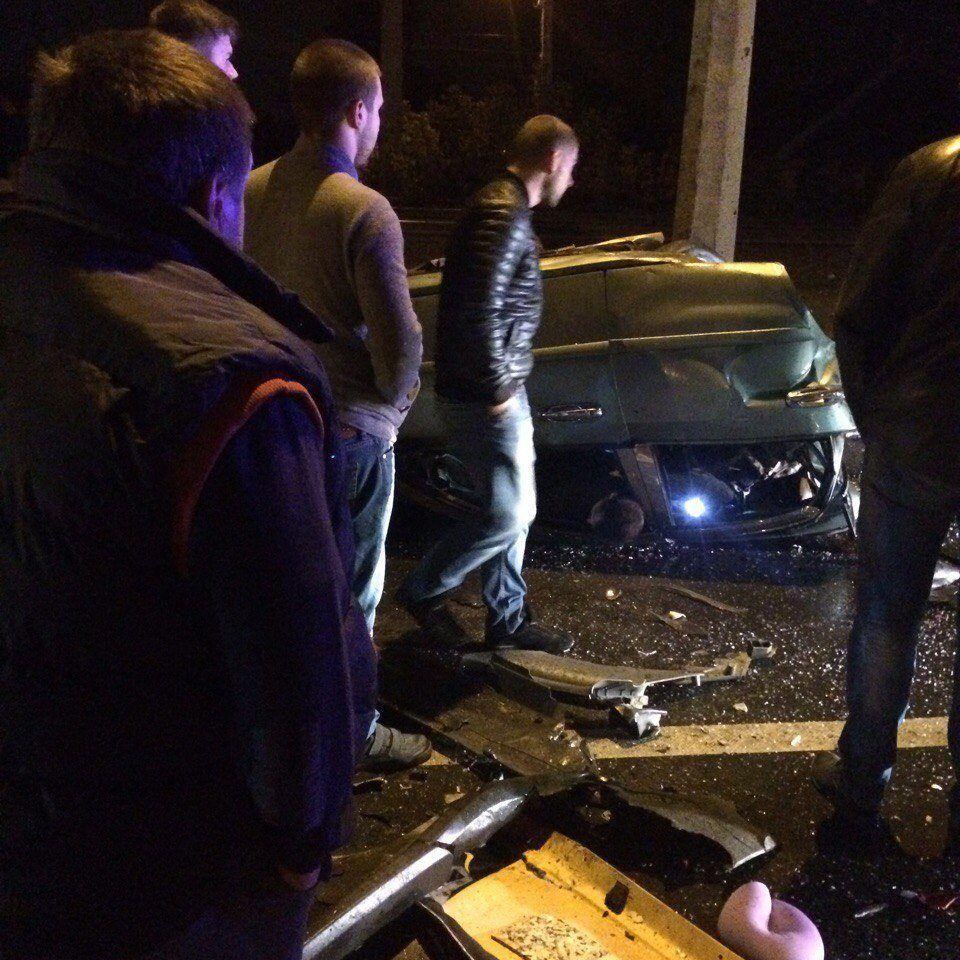 ДТП в Харькове / Фото из соцсетей