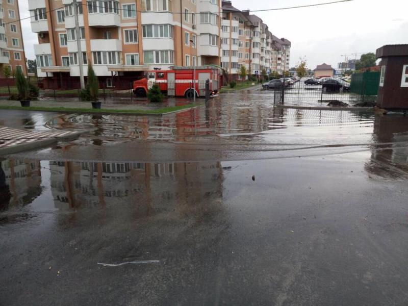 Наслідки зливи у Бучі / ДСНС