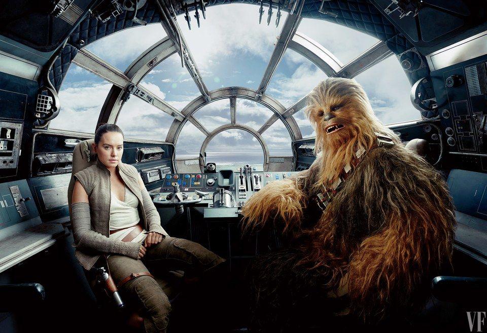 """Джей Джей Абрамс починає ділитися подробицями про новий епізод""""Зоряних воєн"""" / Annie Leibovitz."""
