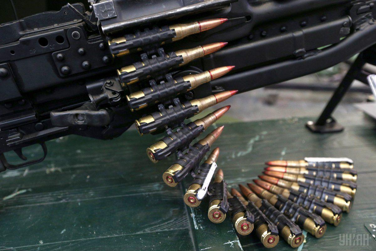 На Київщині співробітники СБУ виявили арсенал зброї та боєприпасів / фото УНІАН