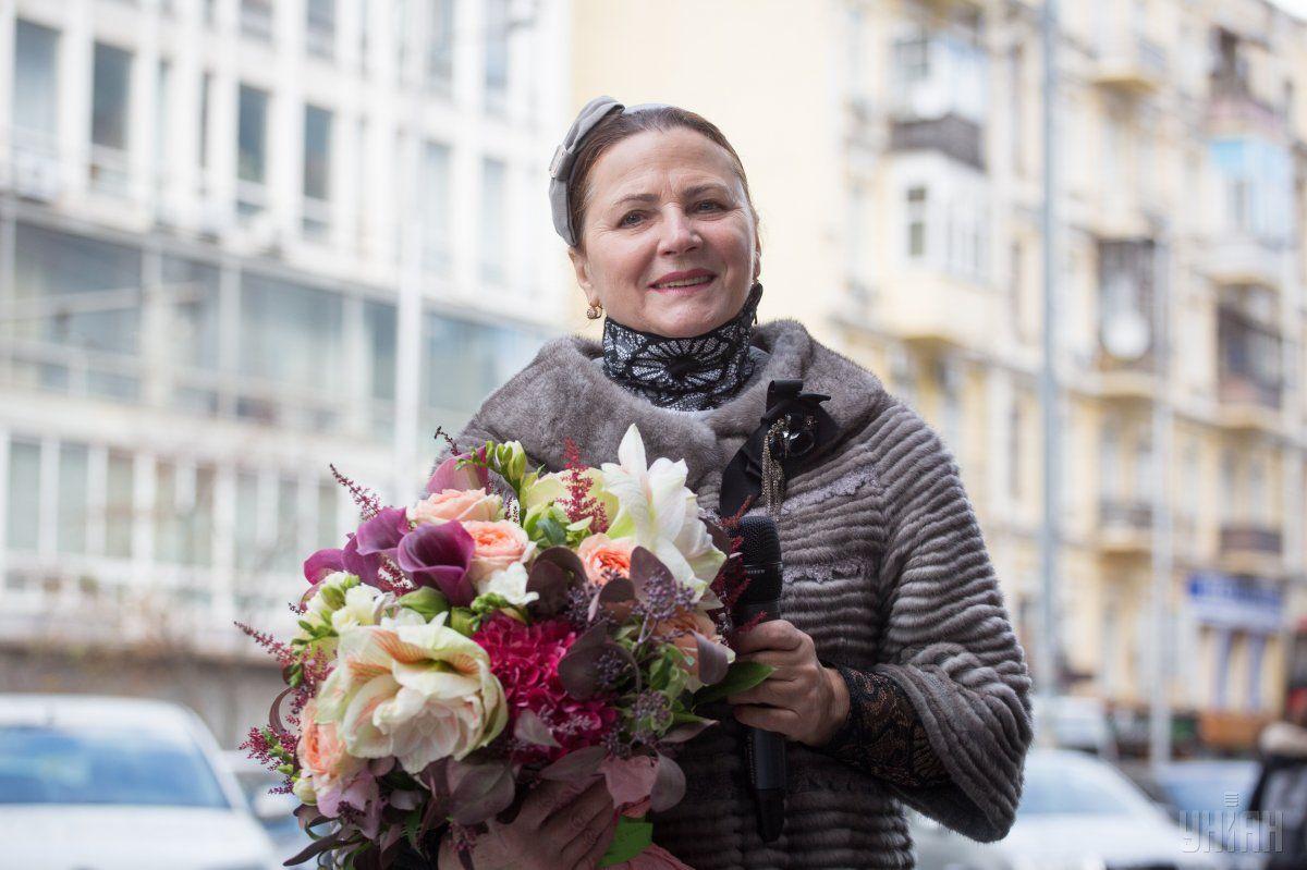 Ніна Матвієнко пробіглася / фото УНІАН