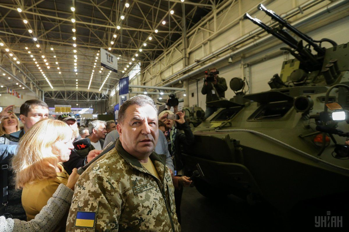 Ukrainian Defense Minister Stepan Poltorak / Photo from UNIAN