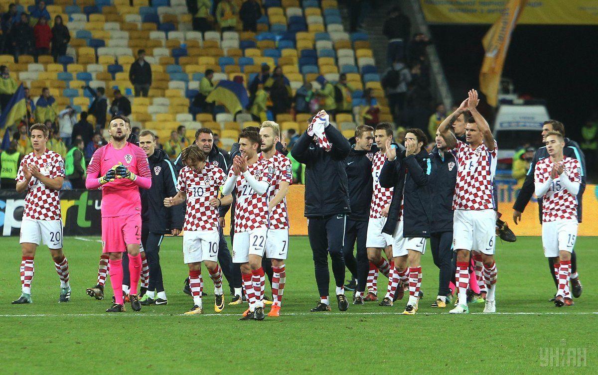 Сборная Хорватии посде победы в Киеве продолжит борьбу за путевку на ЧМ в плей-офф / УНІАН