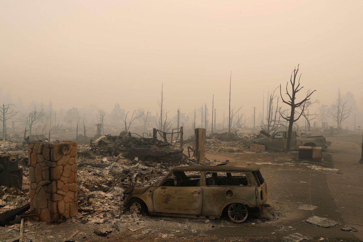 Наслідки пожежі в Каліфорнії / REUTERS