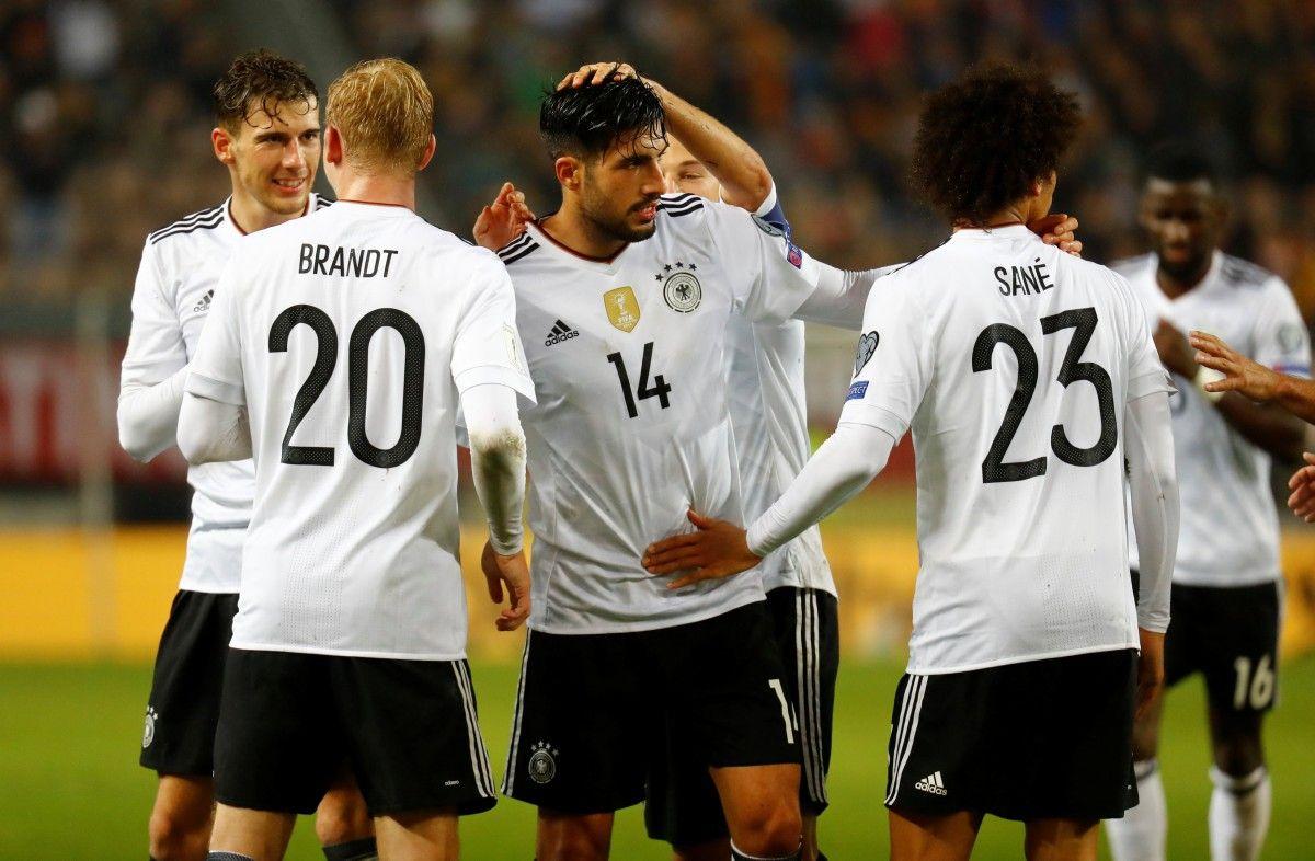 Действующий чемпион мира сборная Германии расположится в первой корзине / Reuters