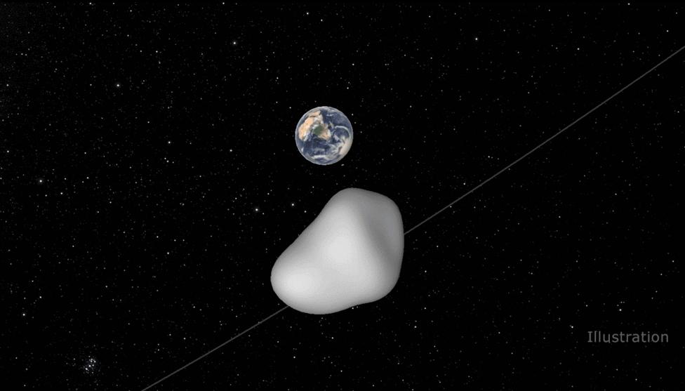 Ученые уже назвали большую долю «Ультима», малое – «Туле» / изображение NASA/JPL-Caltech