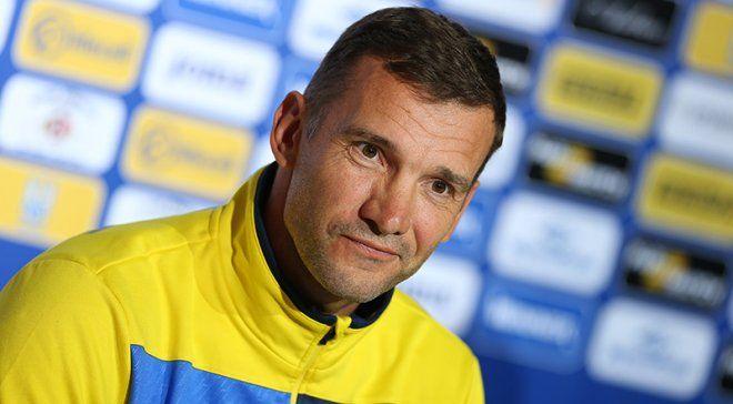 Андрій Шевченко залишається на чолі збірної України / football24.ua