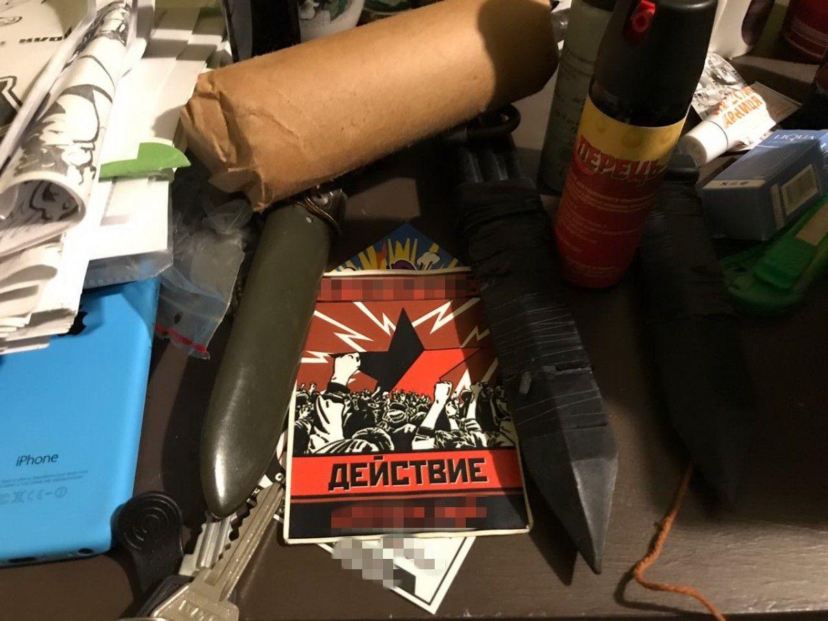 Правоохранители изъяли компьютерную технику и материалы с доказательствами противоправной деятельности / фото ssu.gov.ua