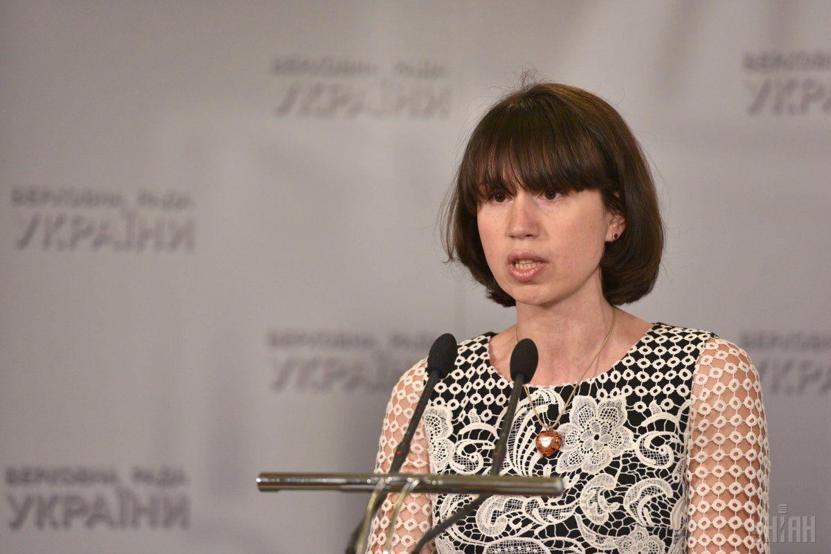 Черновол вчера побывала в ГБР / фото УНИАН