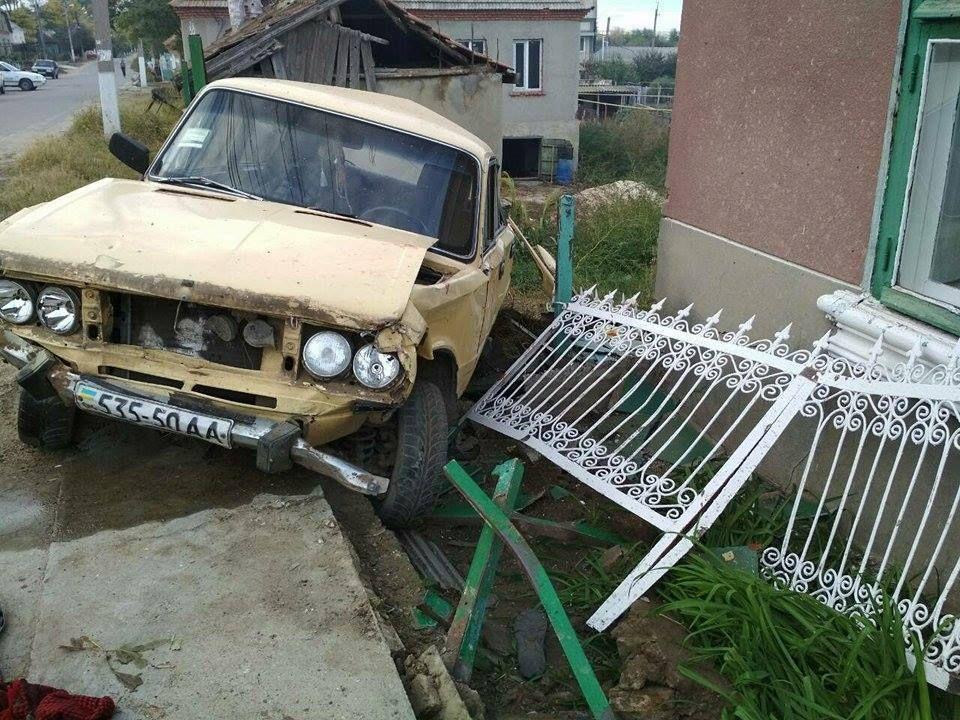 Водитель находился в состоянии алкогольного опьянения / фото facebook.com/gunp.odessa