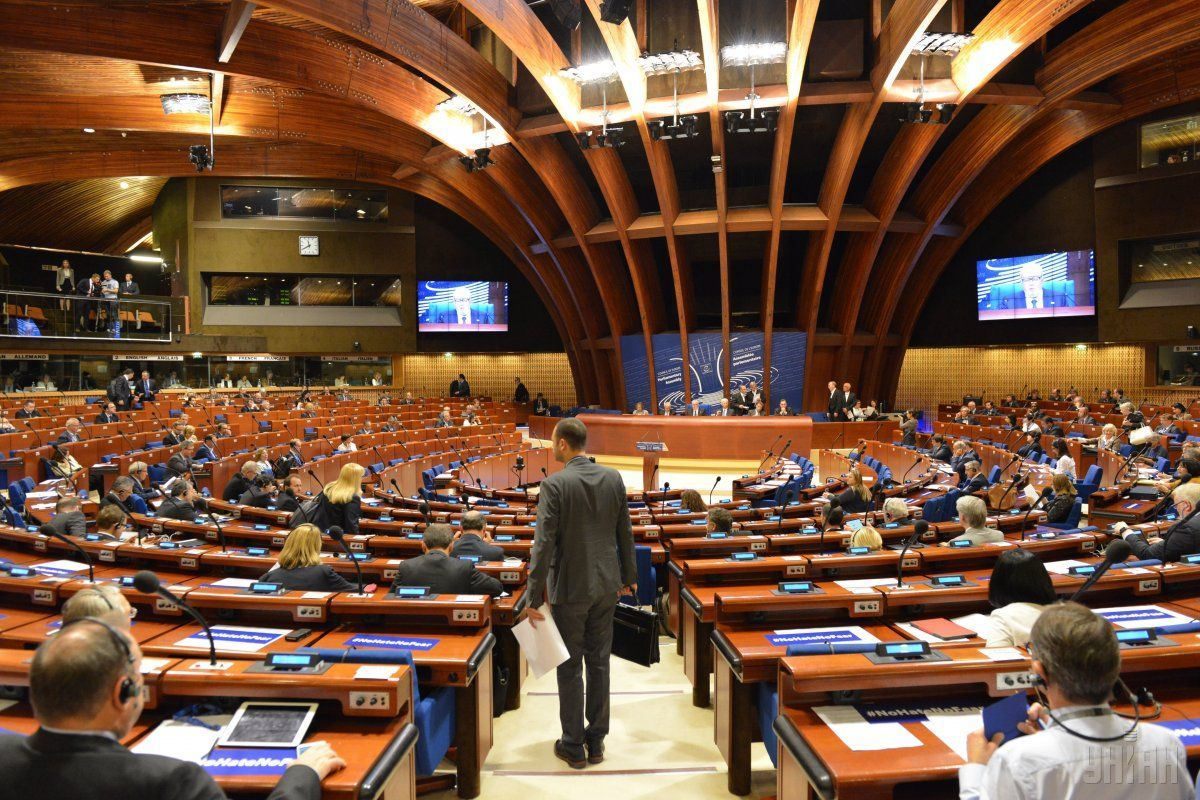 Разумков прокомментировал ситуацию, сложившуюся в Совете Европы после возвращения России в ПАСЕ / фото УНИАН