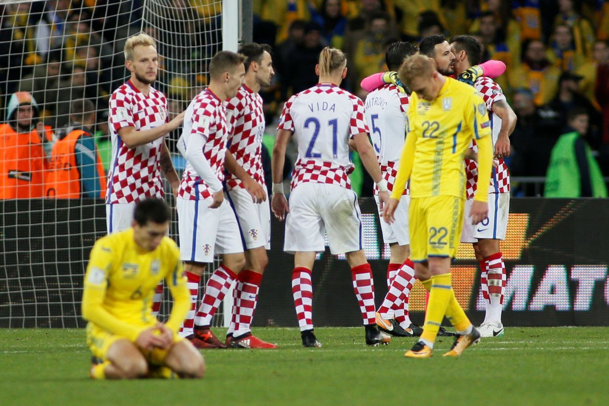 Матч Украина-Хорватия / REUTERS