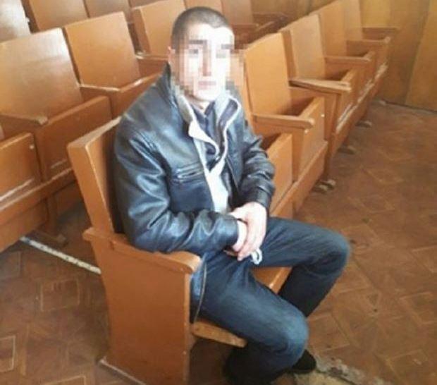 Мужчина уже имеет криминальное прошлое / фото патрульной полиции Львова