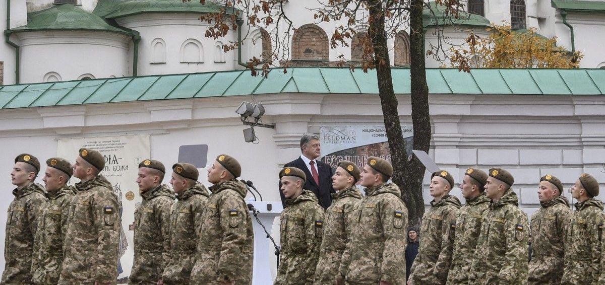 Со следующего года зарплата военных увеличится минимум на 30% / president.gov.ua